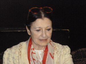 La ballerina Carla Fracci